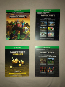 Minecraft Master Collection Xbox digital game 35$ X60$X