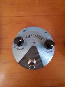 Dunlop Jimi Hendrix Fuzz Face Mini pedal