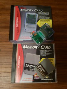 Ps1 memory cards