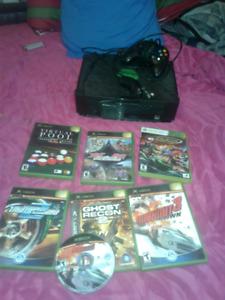 Xbox ac 7 games un remote et un ninchoke