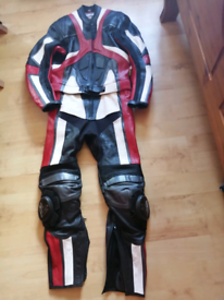 Motorcycle leathers - Mens - 2 piece