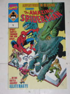 Marvel Comics Spider-Man: Adventures in Reading#1 comic book