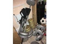 Weights gym stuff