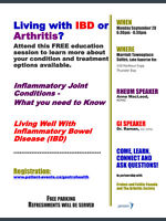 Free Session: Living with IBD or Arthritis?
