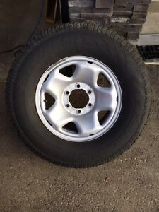Set of Hercules Avalanche snow tires Toyota rims  with TPMS