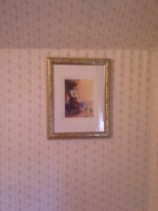 """FRAMED LIMITED EDITION PRINT TITLED """"WAITING"""""""