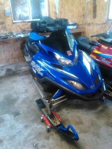2002 Yamaha viper 700 cc