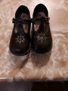 Brown Mary Jane style sz 10 dress shoes