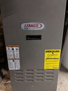2012 Oil furnace, oil tank, thermostat and all assesories