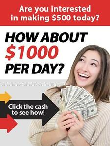 Do you want to make over $1000 from Home? We are looking only for serious people.