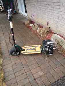 Goped bigfoot gas scooter