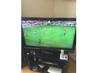Sony bravia 40 inch led tv with freesat