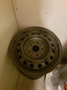 5 bolt rims from a Corolla