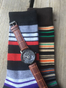 Men's Watches & Dress Socks