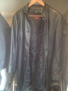 veste en cuir (DIMITRI)