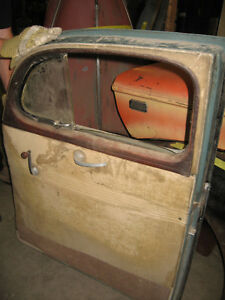 Pair of 1940 Ford Coupe doors, mint, sell or trade London Ontario image 2