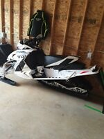 Like New 2013 F800 Sno Pro Limited