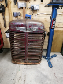 International Tractor radiator cover