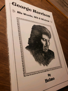 GEORGE HARRISON HIS WORDS,WIT AND WISDOM BOOK