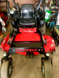 Heavy Duty Gravely Zero Turn - very fast