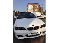 BMW 323 CI Convertible with M3 sports kit (Red Seats)