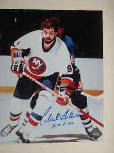 CLARK GILLIES New York Islanders Autographed 8x10 Photo W/COA