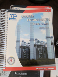 3rd Class Power Engineering Textbooks