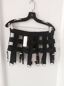 Garter belt, fetish, Gothic, High-end new with tags