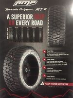 AMP TERRAIN GRIPPER A/T MUD TIRE!!