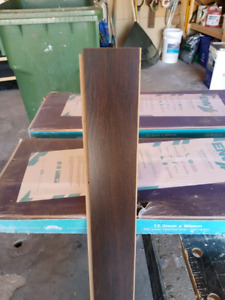 Two boxes (unopened) laminate flooring