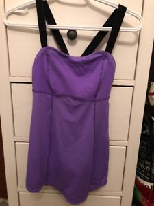 Lululemon Women's Purple Tank Top