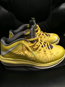 1eae937ac054 Air Max Lebron 10 Low Yellow Size 9 brand new