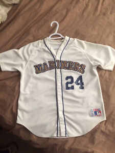 OBO Mariners #24 Griffey Jersey