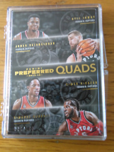 2015/16 PANINI PREFERRED RAPTORS JERSEY CARD-DEROZAN,LOWRY ++