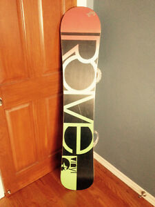 Rome snowboard Burton custom bindings 152cm