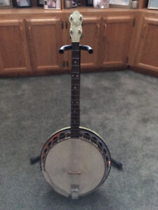 May Bell Antique 4 string Banjo