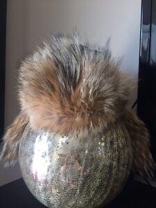 Gorgeous Canada goose fur hat adults S-M