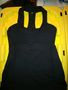 Lululemon Black scoop neck Tank