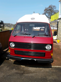 1989 vw t25 2 berth camper van