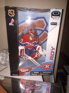 12 inch Patrick Roy montreal canadiens Figure never opened