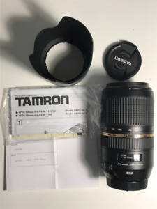 Tamron AF 70-300mm f/4.0-5.6 SP Di VC USD for Canon DSLR