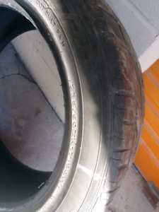 Want to trade 235/50R17 for...