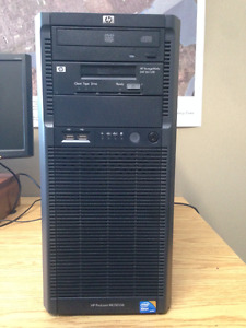 HP ProLiant ML 150 G6 Server with DAT (and 10 tapes)
