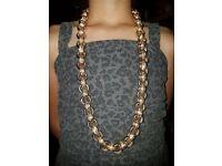 Massive gold belcher chain 329.7 grams