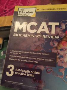 Princeton MCAT review book set