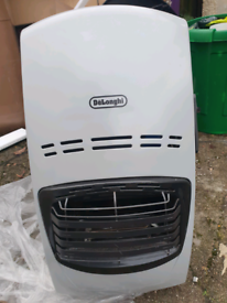 Gas canister heater delonghi blue flame