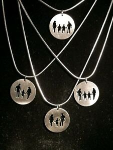 Mother's day gift! Family necklace.