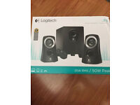 Logitech Z313 speakers and subwoofer Brand New