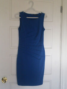 Blue Work Dress