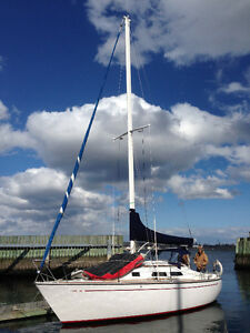 Sailboat for rent at convenient location